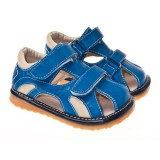 LBL for Boys - Blue Stanley Squeaky Toddler Shoes