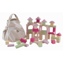 ELC Wooden Bricks **Pink**