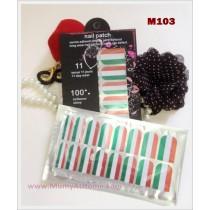 M103 Glamour Nail Foil Sticker
