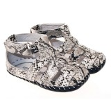 LBL for Girls - Snake Print Penny Infant Shoes