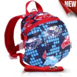 Toddler Walking Harness Strap Backpack Cars