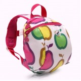 Toodler Walking Harness Strap Backpack Fruits