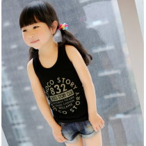 Cool Kids Tank Top MTEE 022 Black