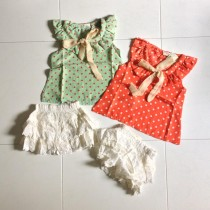 Polka Dot Girl Set ZGS 019