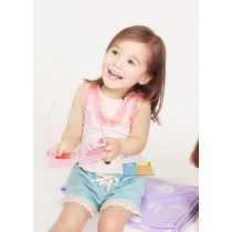 Pink Mousey Ruffle Top n Bottom Set ZGS 030