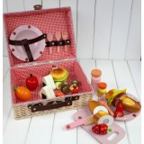 MG White Picnic Basket