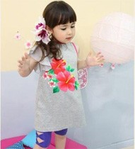 Ruffles Blouse Dress ZGT 311 Grey