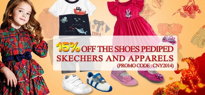 Apparel and Shoes Promo